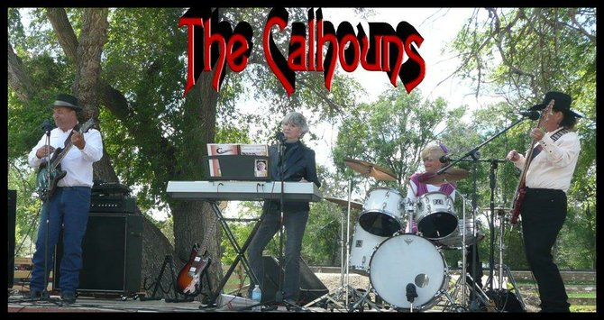 The Calhouns band