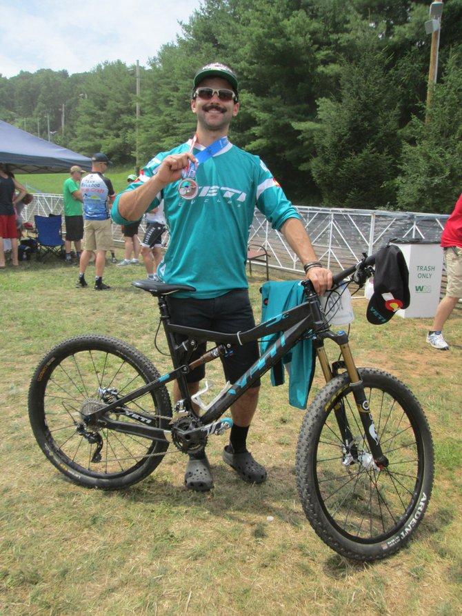 Steamboat Springs' D.J. Nudy placed third last weekend at the USA Cycling Cross-Country Mountain Bike Nationals at Bear Creek Village Ski Resort in Macungie, Penn.