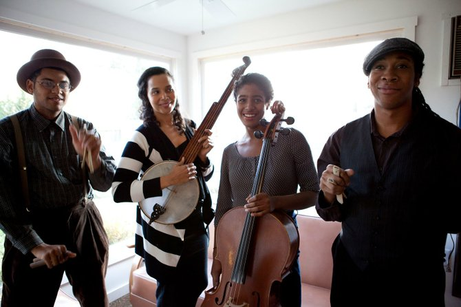 The Carolina Chocolate Drops play the Steamboat Springs Free Summer Concert Series on Friday at Steamboat Ski Area.