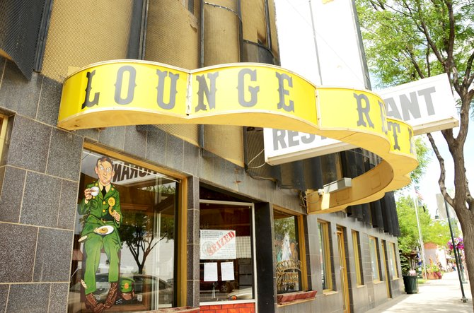 A notice at 538 Yampa Ave. informs Craig residents that former business The Golden Cavvy Restaurant & Lounge has had its assets seized by the Colorado Department of Revenue.