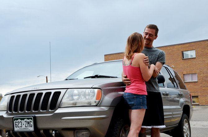 Kelli and Brian Udovich were living and sleeping in their jeep for two weeks in July before they landed on their feet and got into an apartment sponsored by Love INC.