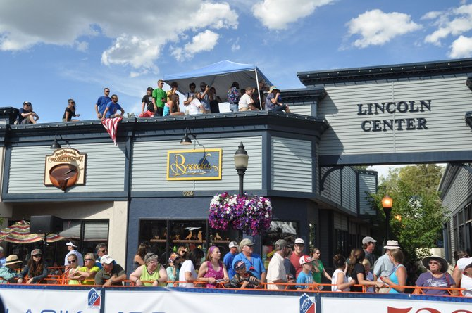Thousands of people packed into downtown Steamboat Springs on Wednesday to watch the USA Pro Challenge Stage 3 finish, but area businesses had mixed results.