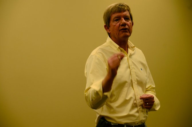 U.S. Rep. Scott Tipton held a town hall meeting Thursday at The Memorial Hospital in Craig. He plans to visit Steamboat on Friday.