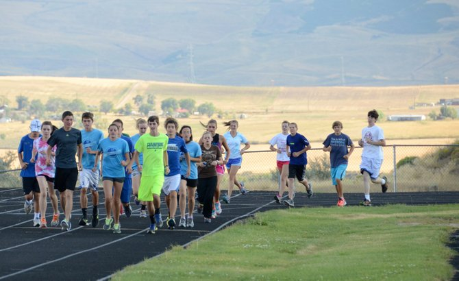 The Moffat County cross-country teams are bringing good depth and increased experience to their meets this season. The girls team's large group of seniors and juniors hopes to be among the state's best by the season's end, while the boys team is much improved with a big group of sophomore runners in the second year with the team.