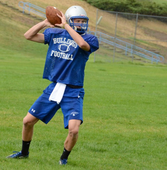 Moffat County football is seeking its first win of the season Friday when it hosts Steamboat Springs in Craig. Junior Matt Hamilton has practiced at full capacity with the team this week and will get the nod to start at quarterback.