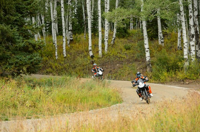 The KTM Adventure Rider Rally will be held in Steamboat Springs this weekend.