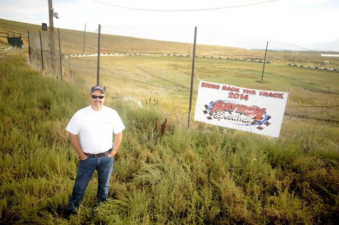 Hayden resident Corey Hunter has embarked on an effort to overhaul the Hayden Speedway and hopes to resume races in June.