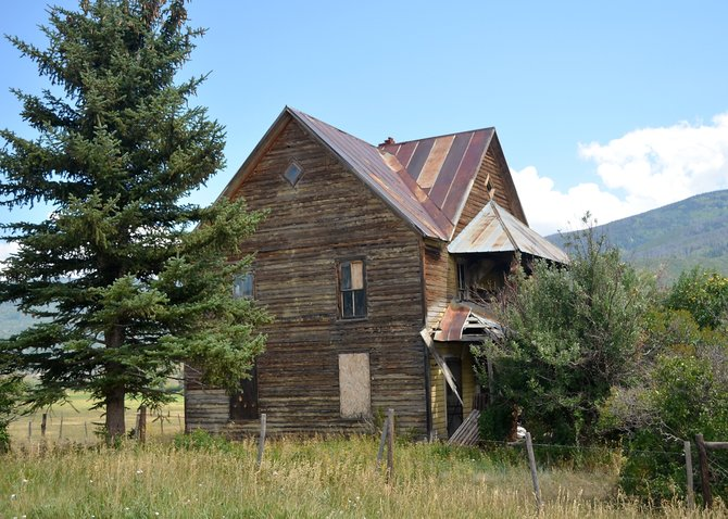 The Gay home still overlooks Pleasant Valley south of Steamboat Springs a century after it was built by Swiss immigrants in what then was known as the French Swiss Colony.