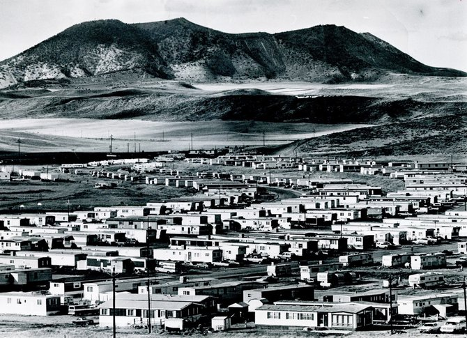 "In 1979, The Denver Post called Shadow Mountain a ""bleak"" but ""acceptable trailer park"" for the power plant construction workers. Today, the area boasts many larger modular homes and well-landscaped yards as well as a number of small trailers, holdovers from the construction era."