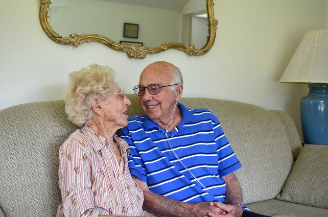 Betty and Bill Neish, of Steamboat Springs, have been in love for 80 years and turned 95 and 96 respectively this week.