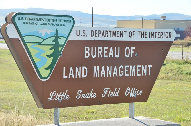 The Bureau of Land Management's Little Snake Field Office is closed because of the government shutdown.
