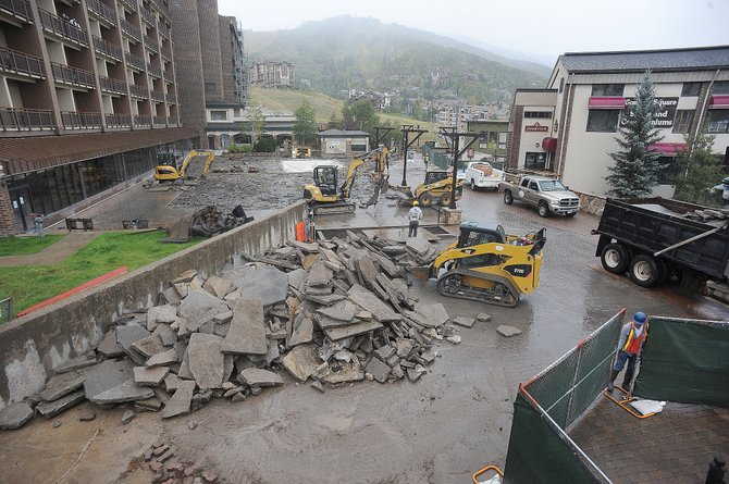 The Sheraton Steamboat Resort is in the midst of a more than $16 million construction project. The Routt County Regional Building Department, which issues building permits for the county and the city of Steamboat Springs, could see technology upgrades or potentially be privatized.