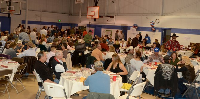 More than 190 people attended the Yampa Valley Friends of NRA Banquet on Saturday night at the Boys & Girls Club of Craig. The annual banquet, in its 18th year, raises money for shooting sports and scholarships for the local clubs as well as similar causes nationally.