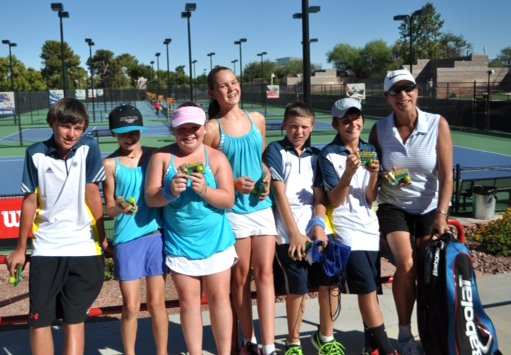 The Steamboat Springs U14 coed tennis team of Nolan Conner, Mae Thorp, Noelle Cerone, Annika Fahrner, John Hannaway and Ethan Paulus placed second at a tournament in Las Vegas.