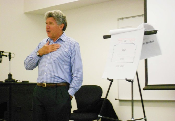 Steven Hofman, former acting U.S. Secretary of Labor, gave Moffat County some fiscal advice at a business forum at Colorado Northwest Community College on Wednesday.