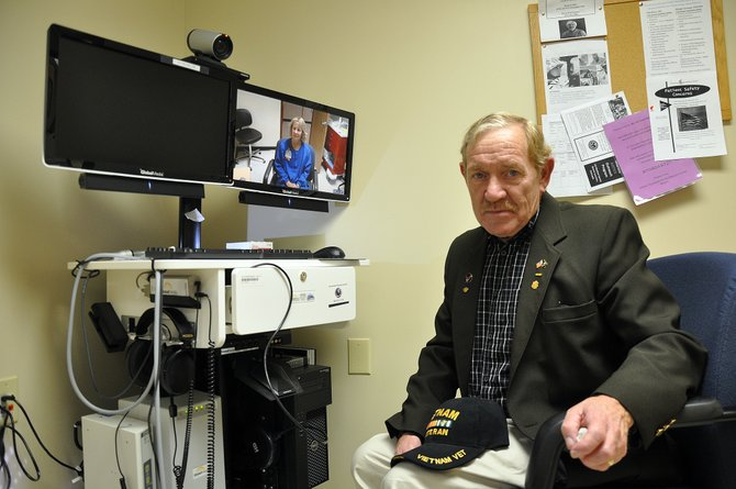 Before the Veterans Telehealth Clinic opened in Craig, Army veteran Andrew Seed, 65, had to travel often to Grand Junction to manage his high blood pressure. The technology at the clinic now allows Seed to get treatment in his hometown.