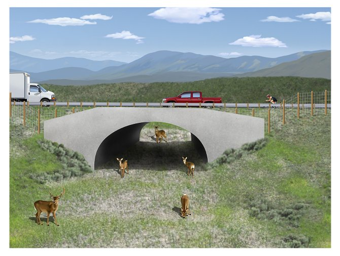 The Colorado Department of Transportation will grant funding to a safety improvement project proposed for Colorado Highway 9. In addition to shoulders, the project will add underpasses and overpasses on the highway that will allow wildlife to avoid collisions with motorists.