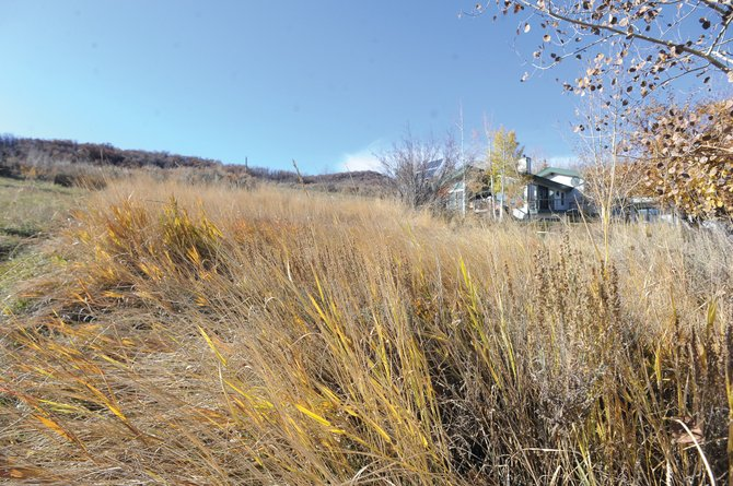 This residential building lot in downtown Steamboat Springs recently sold for $300,000. The overall picture for land is improving with fewer options for existing homes on the market and buyers once again looking at replacement costs.
