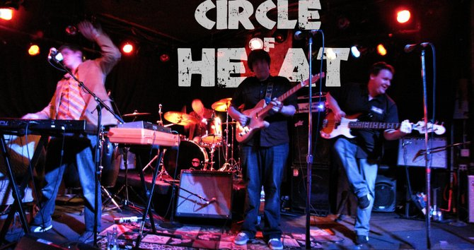Minneapolis band Circle of Heat plays Saturday at Old Town Pub.