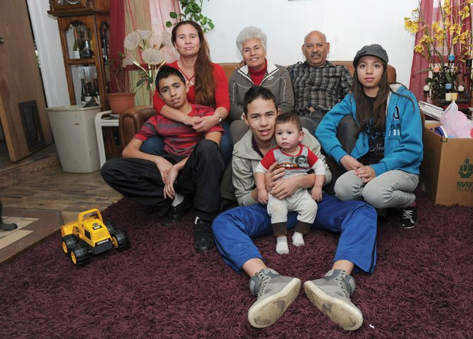 Keyla, Arturo and Emmanuel Villa Parra have found a home and solace with their grandma, step-father and mother in Steamboat Springs after escaping a violent past in Chihuahua, Mexico.