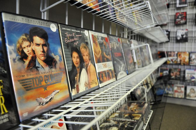 "Mile High Movies offers a broad selection of movies ranging from classics like ""Top Gun"" to new releases like ""Man of Steel."""