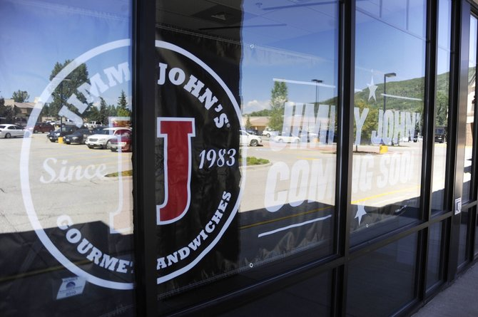The new Jimmy John's sandwich shop opened Tuesday in Central Park Plaza in Steamboat Springs.