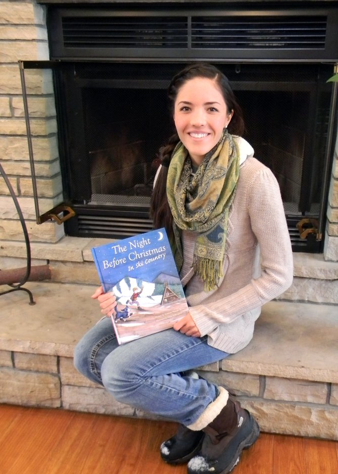 "Heritage Christian School graduate Dana Schlingman recently did the illustrations for the children's book ""The Night Before Christmas in Ski Country."""