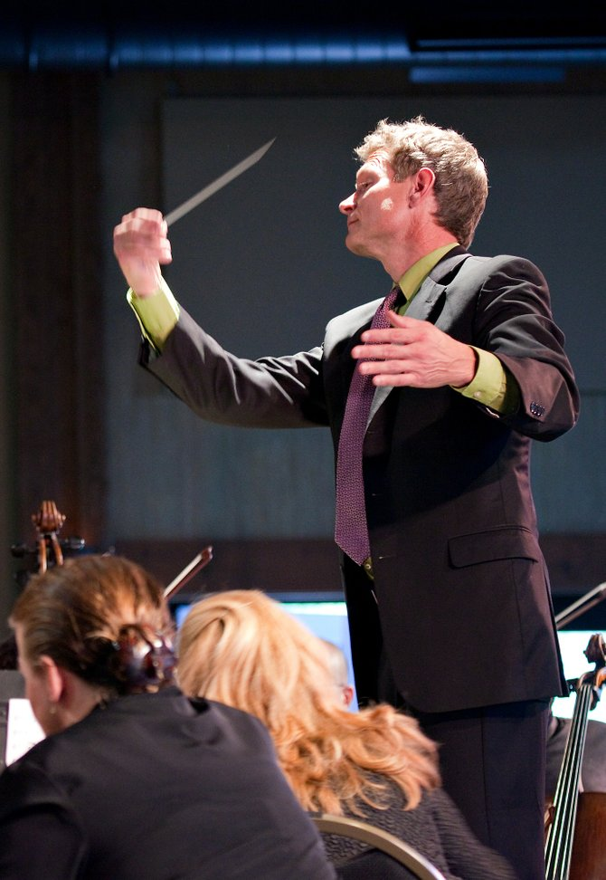 Steamboat Springs Orchestra Director Ernest Richardson conducts a concert. He'll lead the Steamboat Symphony Orchestra Education Concert at 7 p.m. Friday at Bud Werner Memorial Library.