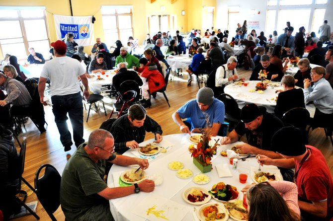 This year's Community Thanksgiving Dinner is from 1 to 5 p.m. Thursday at the Steamboat Springs Community Center.