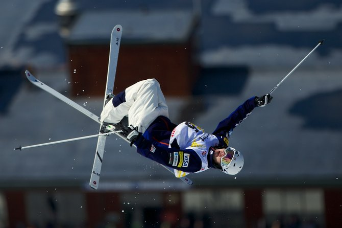 Steamboat Springs moguls skier Jeremy Cota competes last year. Cota was one of five athletes with ties to Steamboat Springs named to the 2014 U.S. Freestyle Moguls Team.