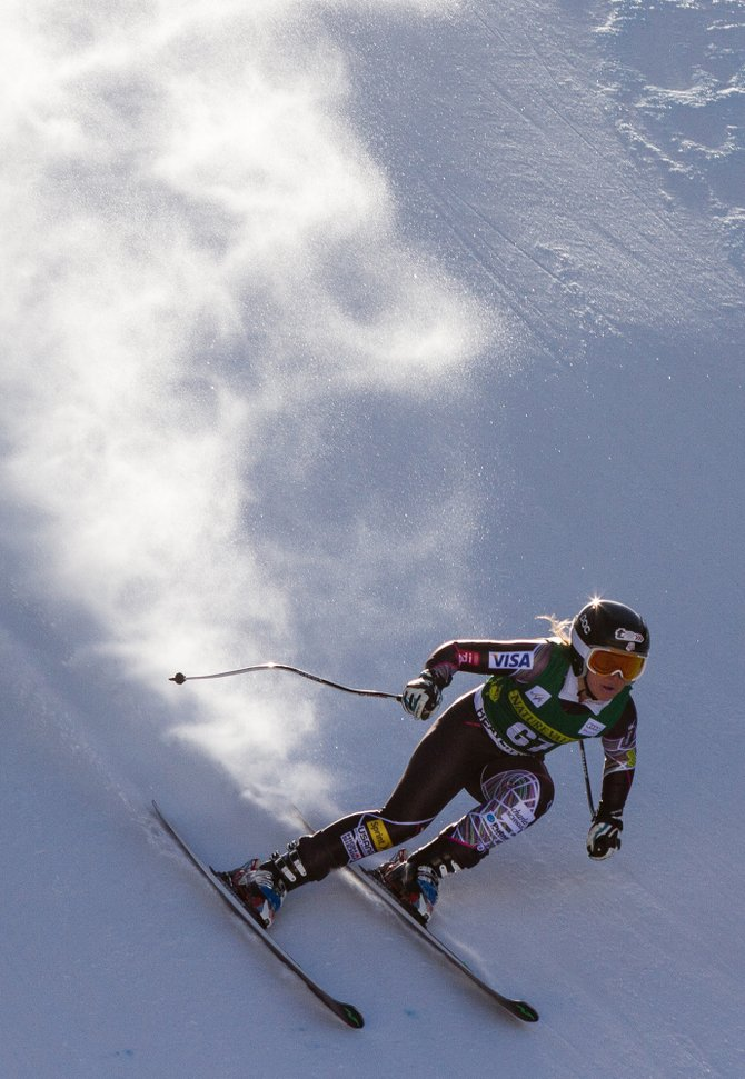Anna Marno trains Wednesday in Beaver Creek for this weekend's World Cup. It will be the first World Cup start for the Steamboat Springs Winter Sports Club skier.