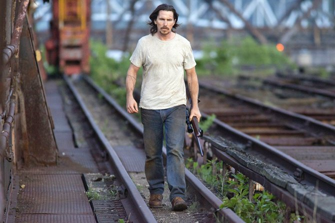 "Russell Baze (Christian Bale) looks to mete out justice in ""Out of the Furnace."" The movie is about a Pennsylvania man who must get his brother out of trouble following a stint in prison that cost him everything he held dear."