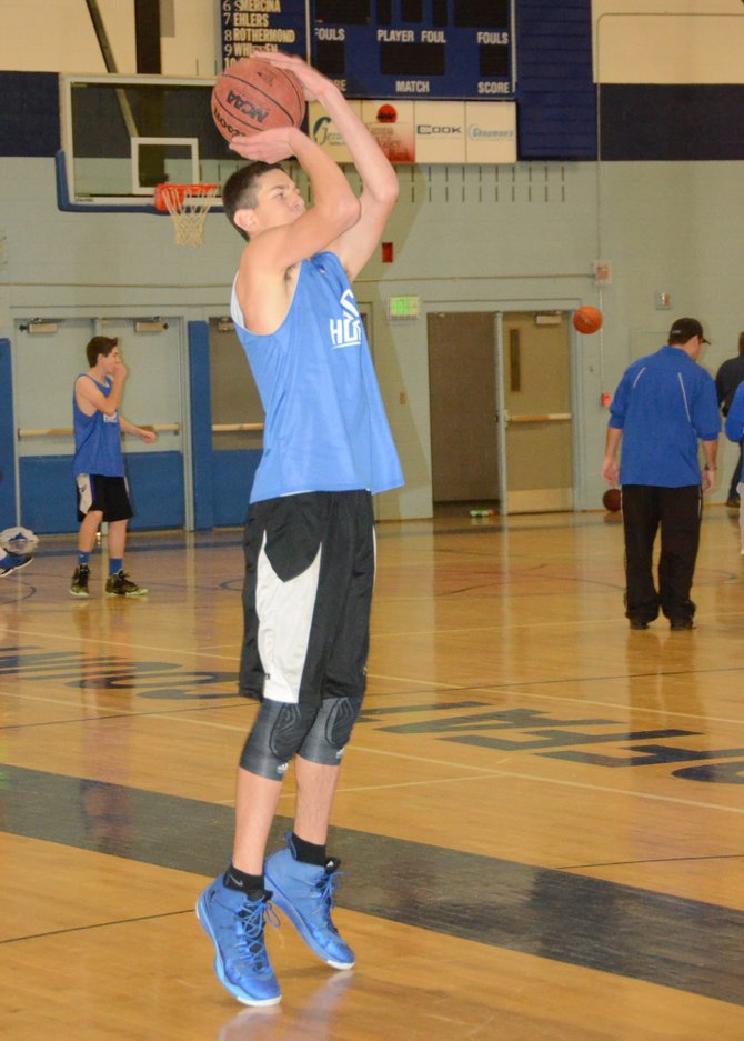 Sophomore Javen Gumber will be a big part of Moffat County's plans this season. He is one of many sophomores and juniors that give the Bulldogs depth, size and talent at every position.