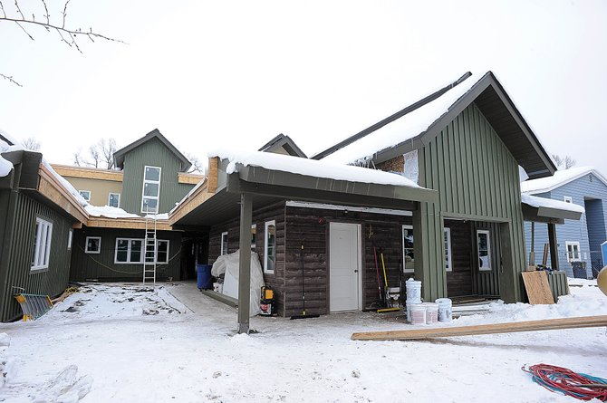 After nearly seven years of planning and effort, Horizons Specialized Services is within two months of completing its new independent living group home at 445 Eighth St., near Soda Creek Elementary School in Old Town Steamboat Springs. Horizons Adult Program Director Tatum Heath said the building is on schedule to be completed by mid-February.