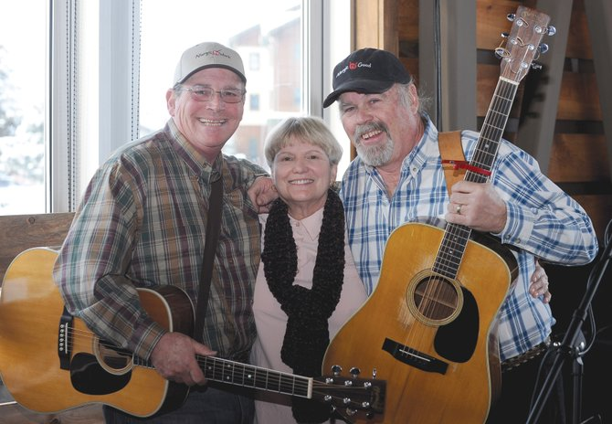 Leaner, Lunker and Betsy were a mainstay at Steamboat Springs watering holes in the 1970s. The band's three members, from left, Joe Ghiglia, Mary MacGregor and Rick Bear, will perform a reunion show at 6 p.m. Sunday at the Chief Theater. Tickets are $15.