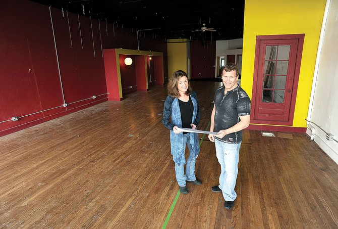 Kim Haggarty and Pat Waters already are looking at plans for opening a new music venue, Schmiggity's, early this spring in downtown Steamboat Springs.