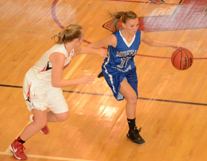 Jazmine Swindler and the Moffat County girls basketball team played a good game at Aspen last weekend. They look to build on it this weekend with Western Slope League tilts at Basalt and Cedaredge.