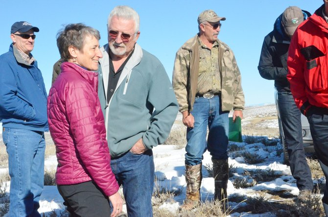The Craig Daily Press is seeking legal counsel after being denied access to a meeting in which U.S. Secretary of the Interior Sally Jewell, pictured, discussed sage grouse conservation with Gov. John Hickenlooper and various representatives from the region and the rest of Colorado.