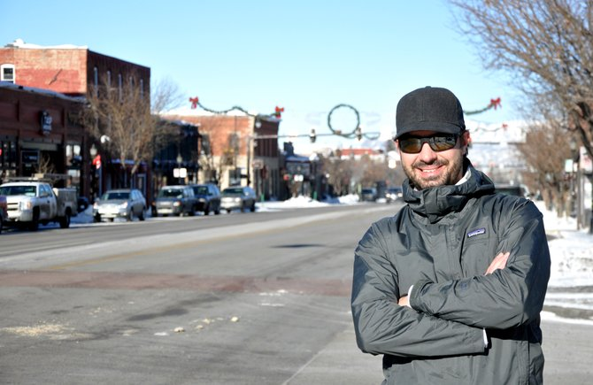 Jon Sanders has become Mainstreet Steamboat Springs' youngest board president. He says this year will be one of downtown's most important.