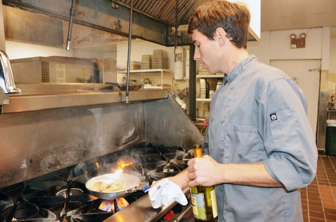 Tim Richardson, the new chef at the Clarion Inn and Suites, says he wants to freshen up the hotel's restaurant.