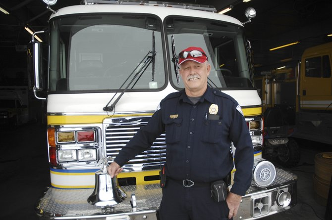 West Routt Fire Protection District Chief Bryan Rickman's last day on the job was Friday. He is retiring after 39 years with the department.