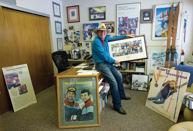 Fifty years' worth of skiing history surrounds Billy Kidd, who on Feb. 8, 1964, became the first American male to win an Olympic Alpine medal.