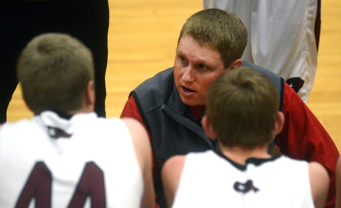 Soroco High School boys basketball coach Jake Eskridge and his Rams may have a tough hill to climb come district tournament time at the end of the month.