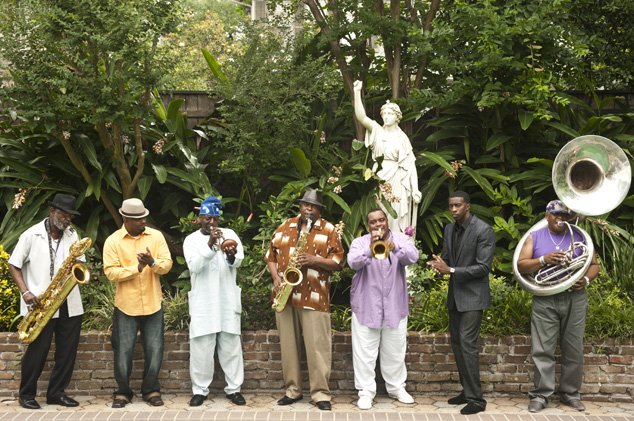 The Dirty Dozen Brass Band will play at 7p.m. March 4 at Strings Music Pavilion for a special Mardi Gras event. Tickets start at $25.