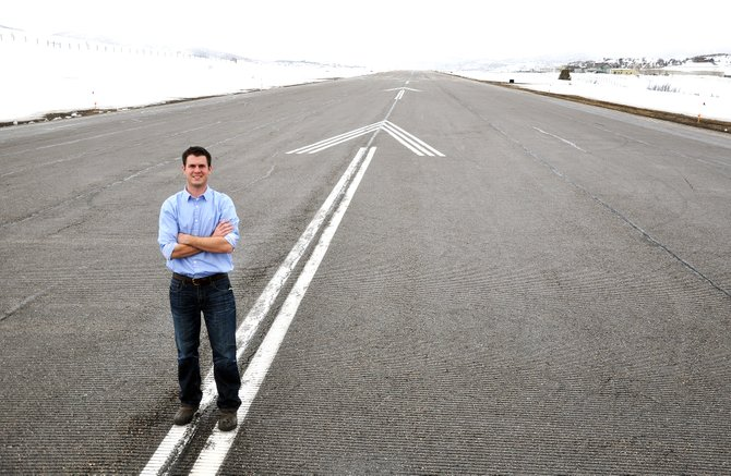 Chris Cole started as the manager of Steamboat Springs Airport in January 2014.