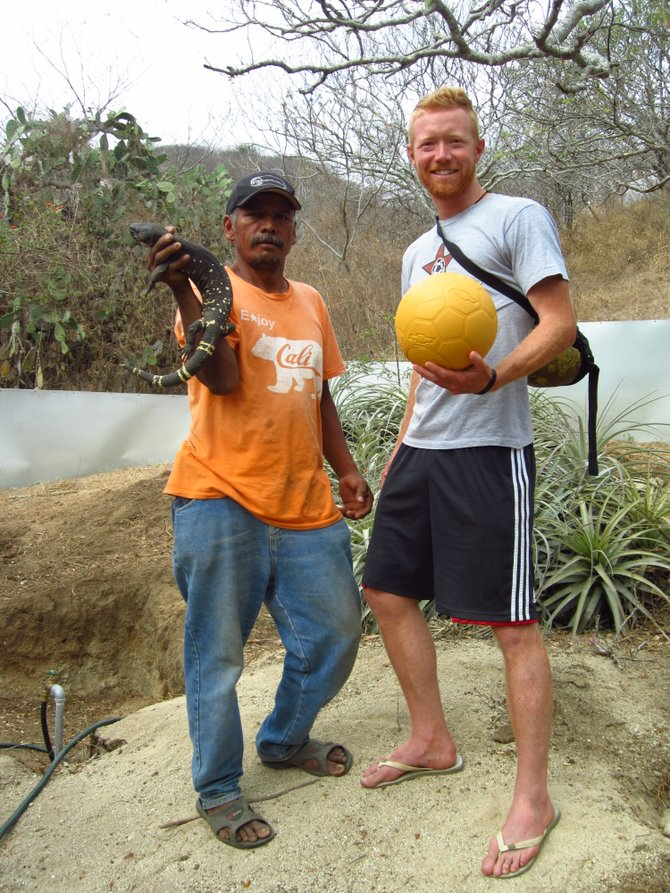 Gilberto Salazar seeks to save the endangered Heloderma, and in doing so he has helped to save the town of El Arenal, Guatemala, from catastrophic flooding.