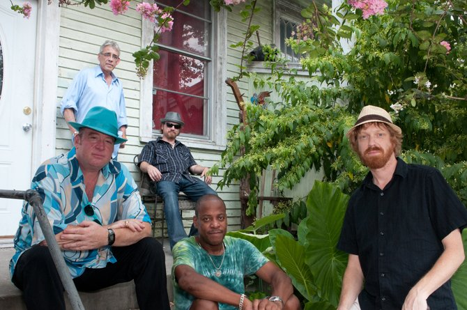 The New Orleans Suspects will play the free Bud Light Rocks the Boat series at 3 p.m. Saturday in Gondola Square.