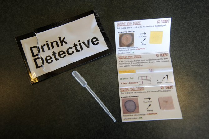 The Steamboat Springs Police Department is making available kits that will test whether drinks have been spiked with three drugs oftentimes used in date rapes.