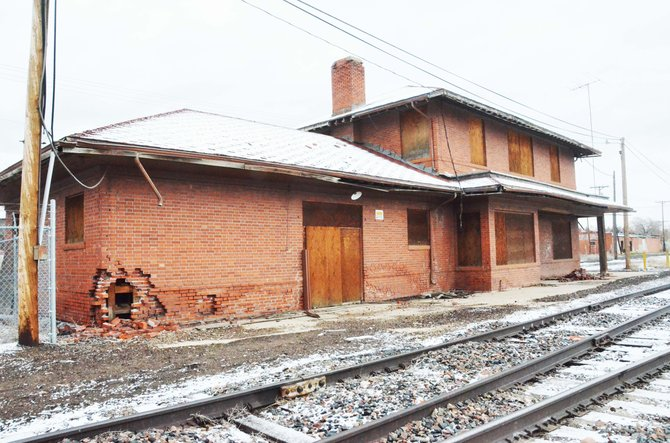 The Craig train depot has been a part of the town since 1917, but if something isn't done to save it soon, it could be wiped off the map.