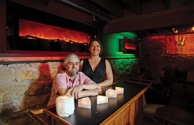 Michael and Sarah Freese are the owners of Karma Bar and Lounge on Lincoln Avenue in downtown Steamboat. A grand opening celebration for the bar is planned for Friday.